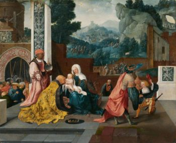 Adoration of the Magi | Jan van Scorel | Oil Painting
