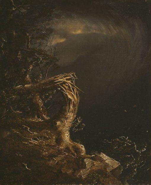 Blasted Tree | Jasper Francis Cropsey | Oil Painting