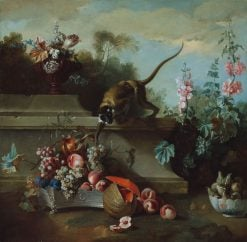 Still Life with Monkey