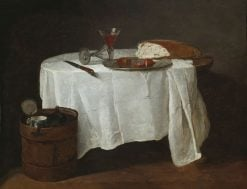 The White Tablecloth | Jean Baptiste Simeon Chardin | Oil Painting