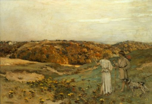 Tobias and the Angel | Jean Charles Cazin | Oil Painting
