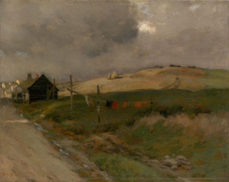 Landscape   Jean Charles Cazin   Oil Painting