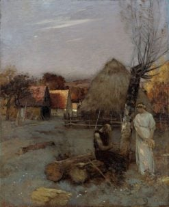 Theocritus | Jean Charles Cazin | Oil Painting