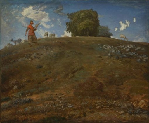 In the Auvergne | Jean Francois Millet | Oil Painting