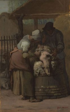 The Sheepshearers | Jean Francois Millet | Oil Painting