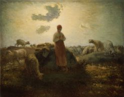 The Keeper of the Herd | Jean Francois Millet | Oil Painting