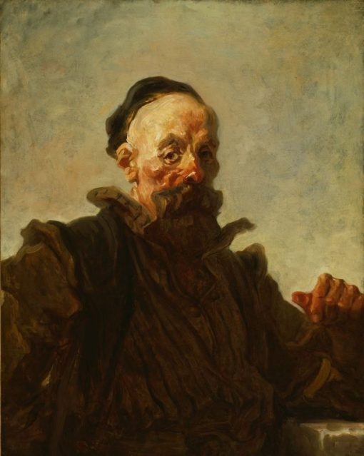 Portrait of a Man | Jean HonorE Fragonard | Oil Painting