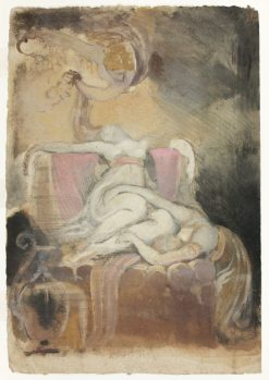 Sketch for 'Dido on the Funeral Pyre' | Johann Heinrich Fuseli | Oil Painting