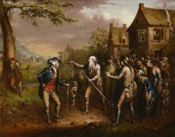 The Return of Rip van Winkle (Étude?) | John Quidor | Oil Painting