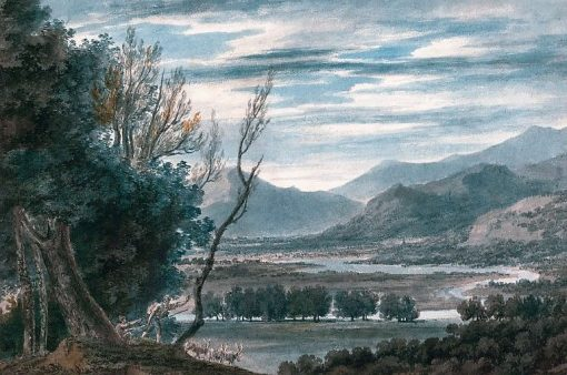 The Valley of the Eisak Near Brixen in the Tyrol | John Robert Cozens | Oil Painting
