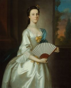 Abigail Chesebrough (Mrs. Alexander Grant) | Joseph Blackburn | Oil Painting