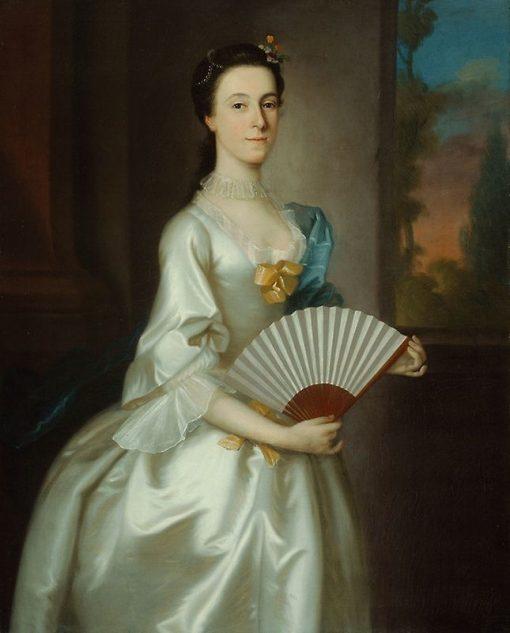 Abigail Chesebrough (Mrs. Alexander Grant) | Joseph Blackburn | Oil Painting