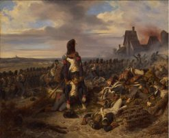Battle Scene | Joseph Louis Hippolyte BellangE | Oil Painting