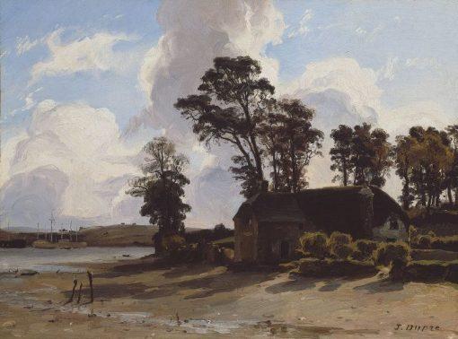 Estuary Farm | Jules DuprE | Oil Painting