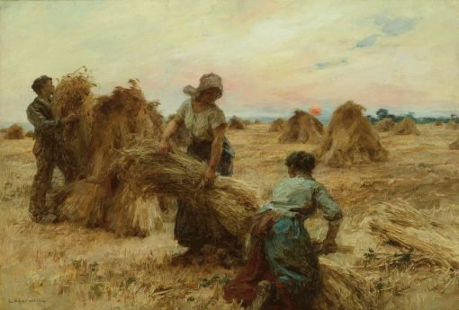 The Harvesters | LEon Augustin Lhermitte | Oil Painting