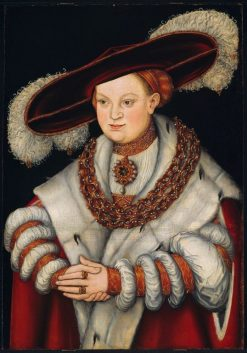 Portrait of Magdalena of Saxony