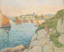 Douamenez in Sunshine | Maxime Maufra | Oil Painting