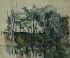 House on a River | Paul CEzanne | Oil Painting