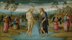 The Baptism of Christ | Perugino | Oil Painting