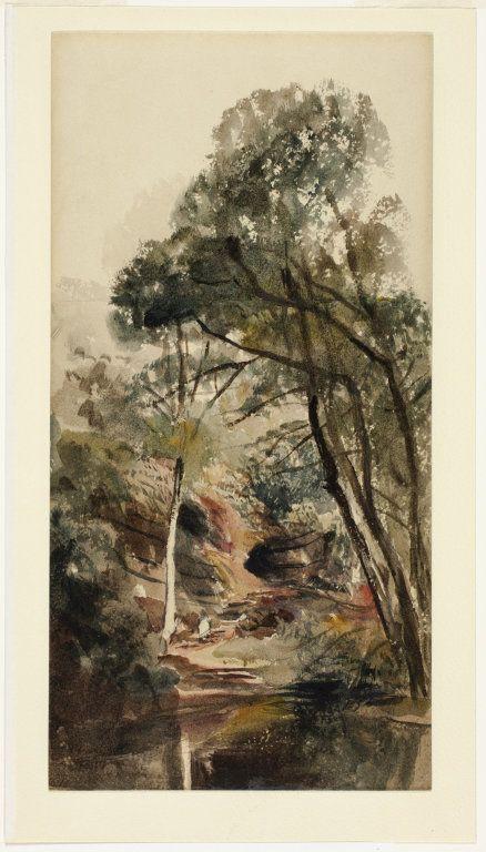 A Wooded River Landscape | Peter de Wint | Oil Painting