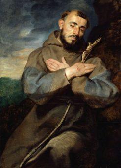 Saint Francis | Peter Paul Rubens | Oil Painting