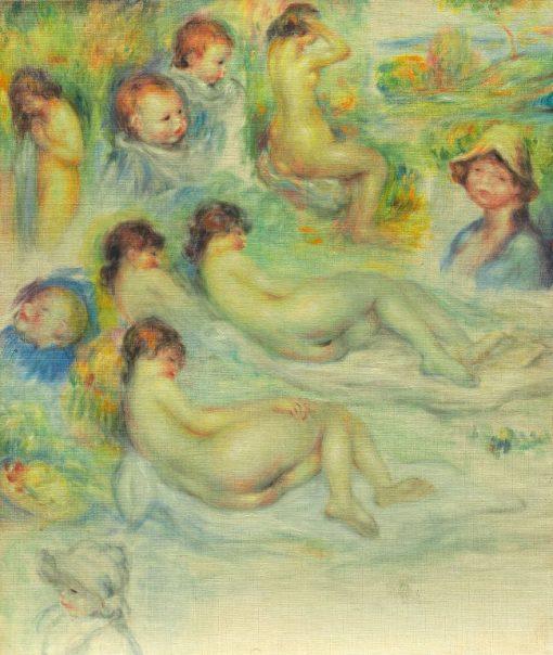 Studies of Pierre Renoir; His Mother