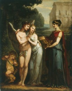 Innocence Choosing Between Love and Riches | Pierre Paul Prud'hon | Oil Painting