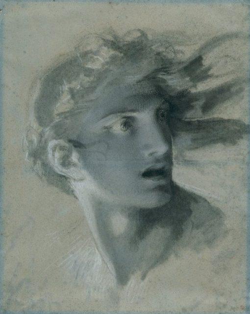 Head of Vengeance | Pierre Paul Prud'hon | Oil Painting