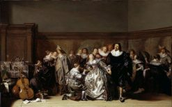 An Elegant Company | Pieter Codde | Oil Painting