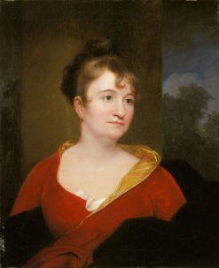 Abigail Inskeep Bradford | Rembrandt Peale | Oil Painting