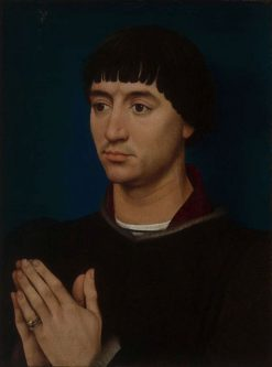 Portrait of Jean Gros | Rogier van der Weyden | Oil Painting