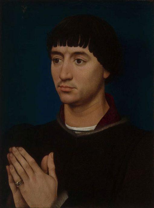 Portrait of Jean Gros   Rogier van der Weyden   Oil Painting