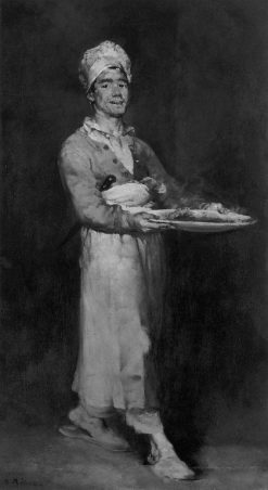 The Scullion | ThEodule Augustin Ribot | Oil Painting