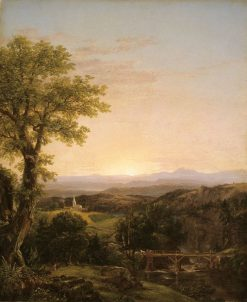 New England Scenery | Thomas Cole | Oil Painting