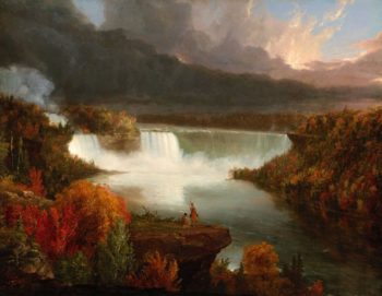 Distant View of Niagara Falls | Thomas Cole | Oil Painting