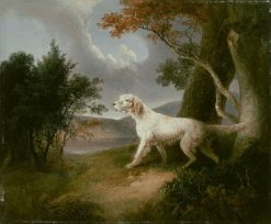 Landscape with Dog | Thomas Doughty | Oil Painting
