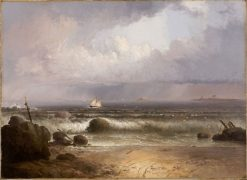 Coming Squall (Nahant Beach with a Summer Shower) | Thomas Doughty | Oil Painting