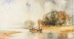 Beverly N.J. | Thomas Moran | Oil Painting