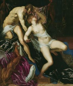 Tarquin and Lucretia | Tintoretto | Oil Painting
