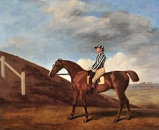 Pumpkin' with William South up (1) | George Stubbs | Oil Painting