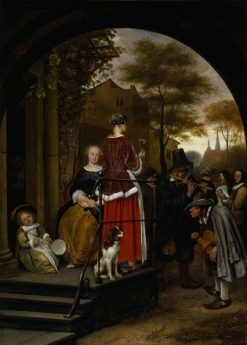 Itinerant Musicians | Jan Havicksz. Steen | Oil Painting
