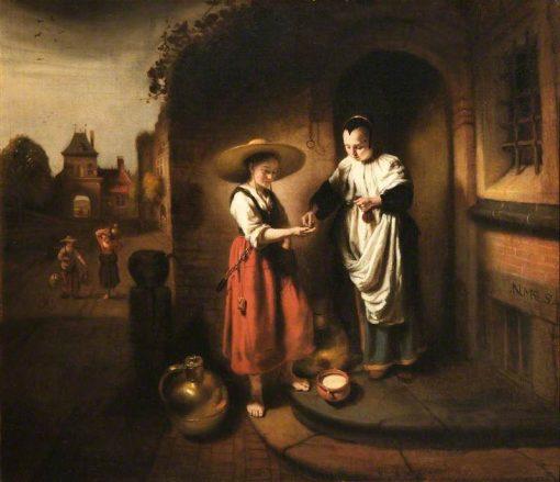 The Milkmaid | Nicolaes Maes | Oil Painting