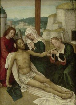 The Deposition   Adriaen Isenbrandt   Oil Painting