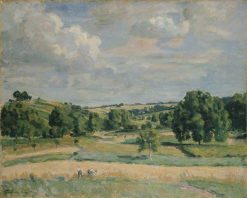 Landscape: Harvest-Time in the Somme Valley   Armand Guillaumin   Oil Painting