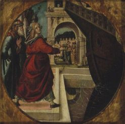 The Incident in the Story of the Vestal Claudia | Bartolomeo Montagna | Oil Painting