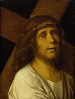 Christ Carrying the Cross | Bartolomeo Montagna | Oil Painting