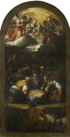 The Adoration of the Shepherds | Bernardo Strozzi | Oil Painting