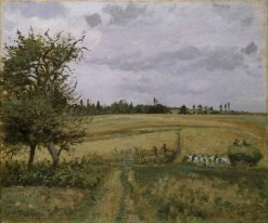 Landscape at Pontoise | Camille Pissarro | Oil Painting