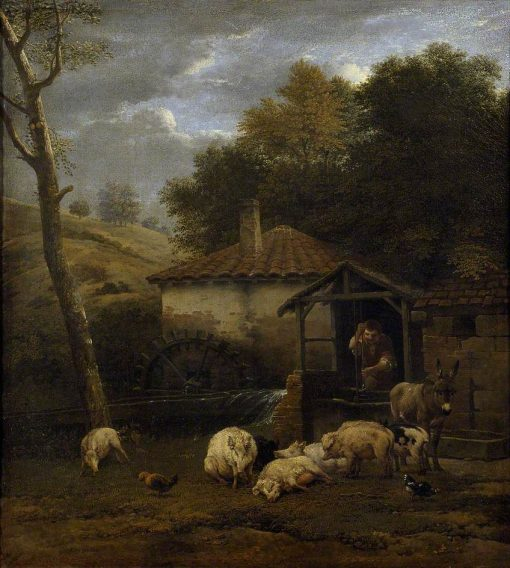A Farmyard with Animals | Carel Dujardin | Oil Painting