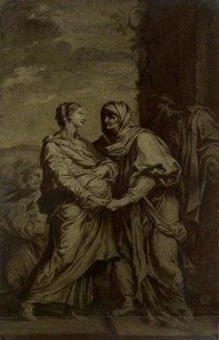 The Visitation   Carlo Maratta   Oil Painting